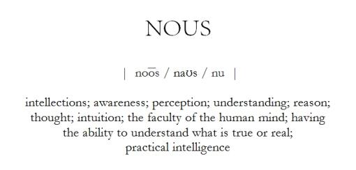 Nous Definition