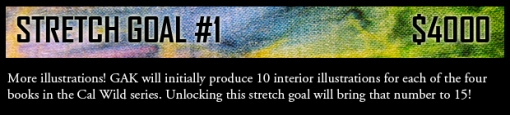 Cal Wild stretch goal #1