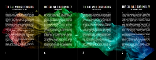The Cal Wild Chronicles - Back Covers