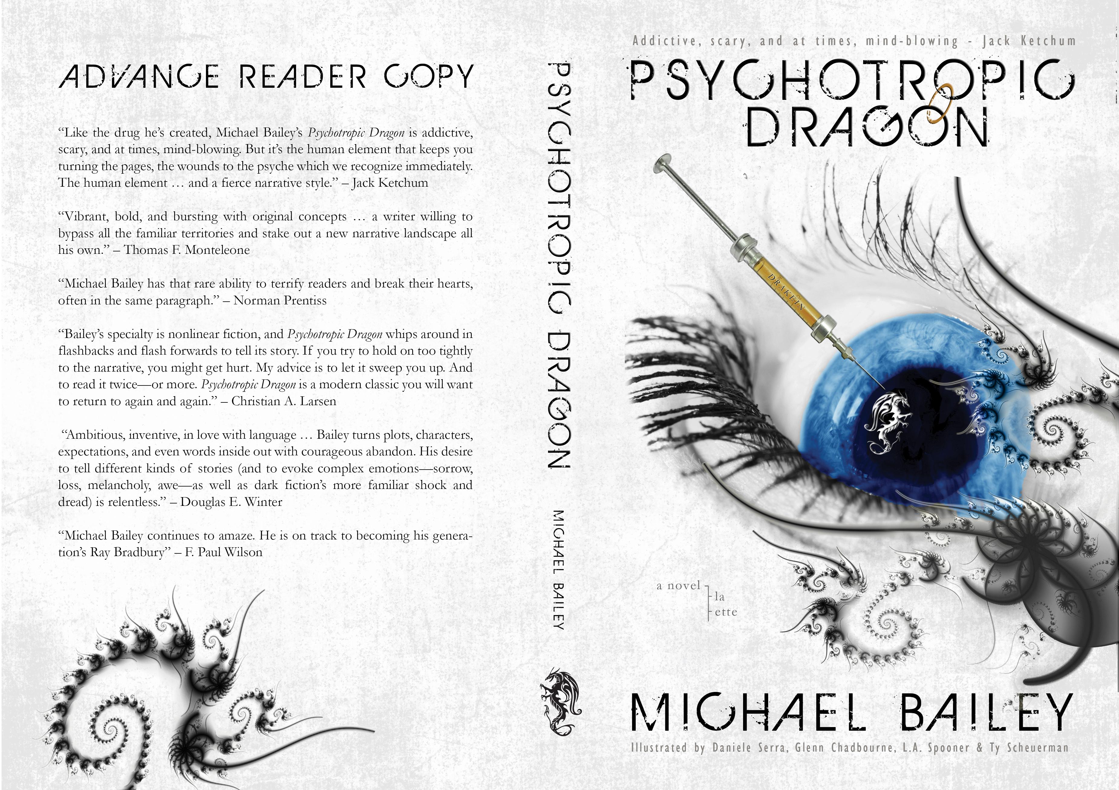 Psychotropic Dragon (ARC) - Cover
