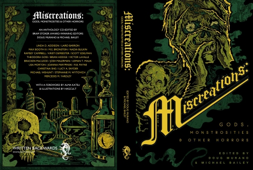 MISCREATIONS - Mock Cover